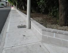 Udine, marciapiedi e piste ciclabili